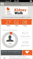 Screenshot of Kidney Walk
