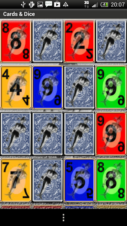 Cards Dice- screenshot