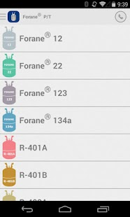 Forane® PT Chart- screenshot thumbnail