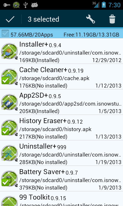Installer +- screenshot