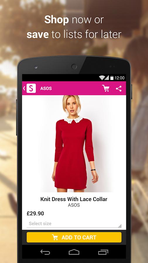 Shopcade - Fashion & Shopping - screenshot