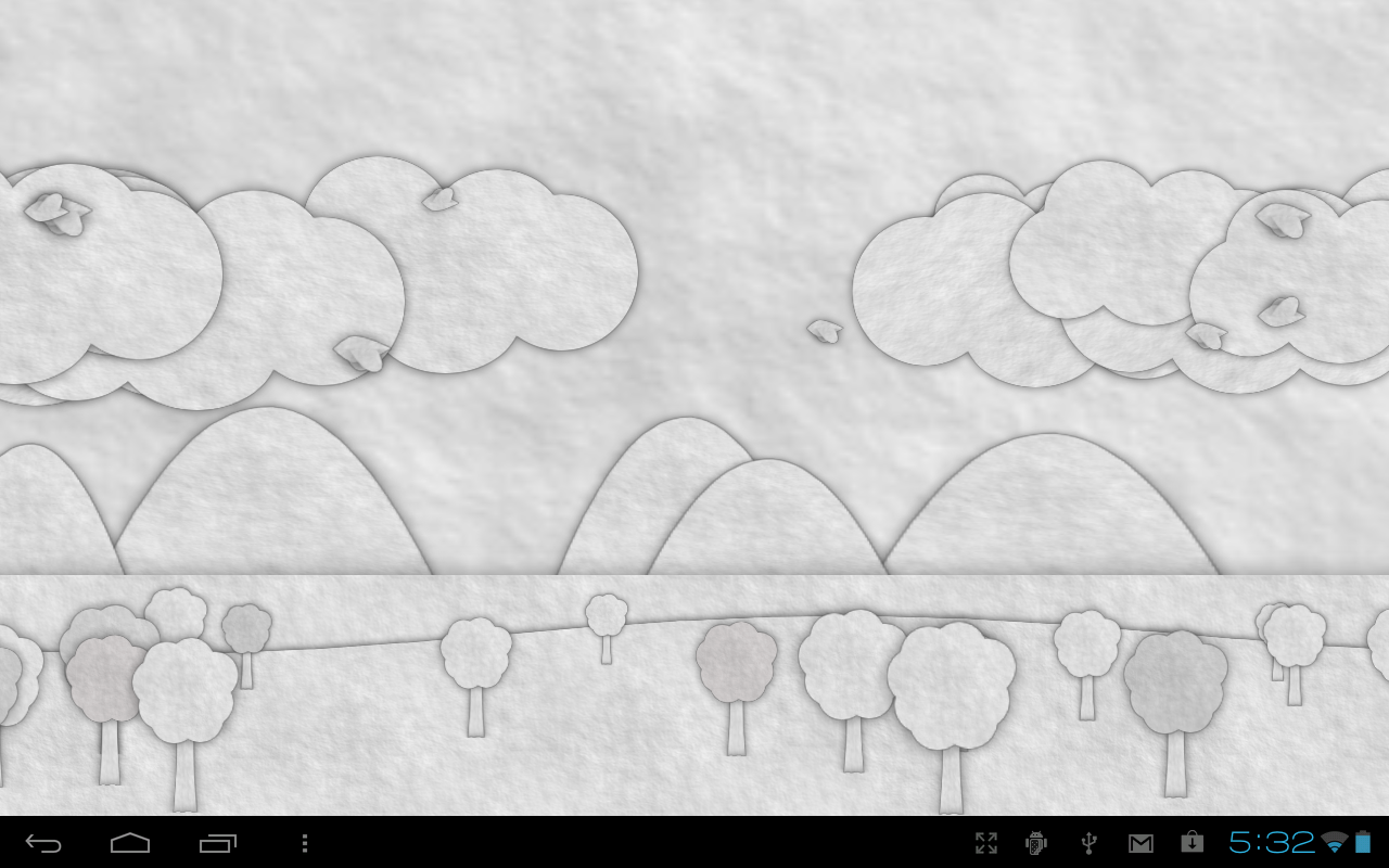 Paperland Pro Live Wallpaper - screenshot