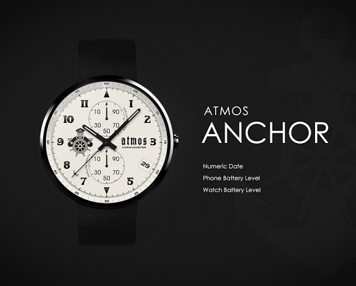 Anchor watchface by Atmos