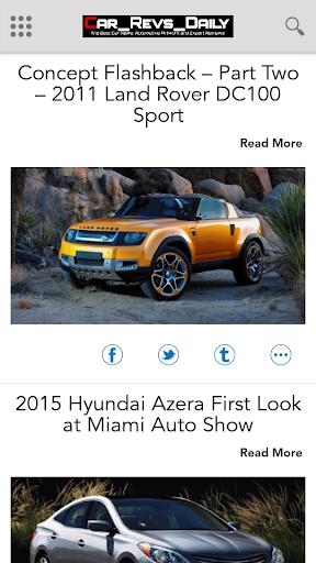 Car-Revs-Daily.com App
