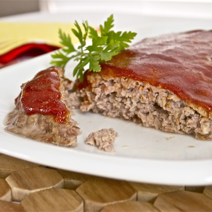 Turkey Meatloaf with Homemade Barbecue Sauce