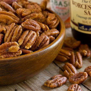 Savory Spiced Pecans.