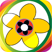 Color Me Flowers-Kids Fun Game