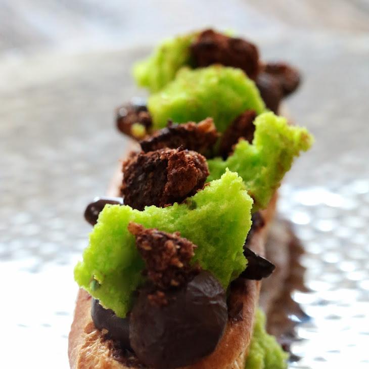 Pistachio Chocolate Eclair From Christopher Adam Recipe