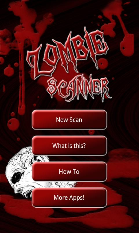 Zombie Scanner Simulation- screenshot