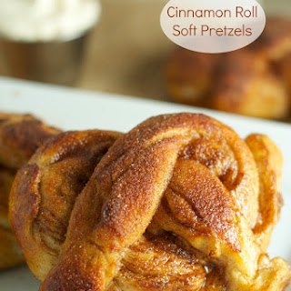 Cinnamon Roll Soft Pretzels