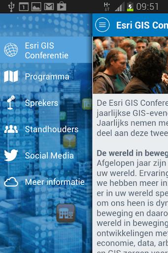 Esri GIS Conferentie 2014