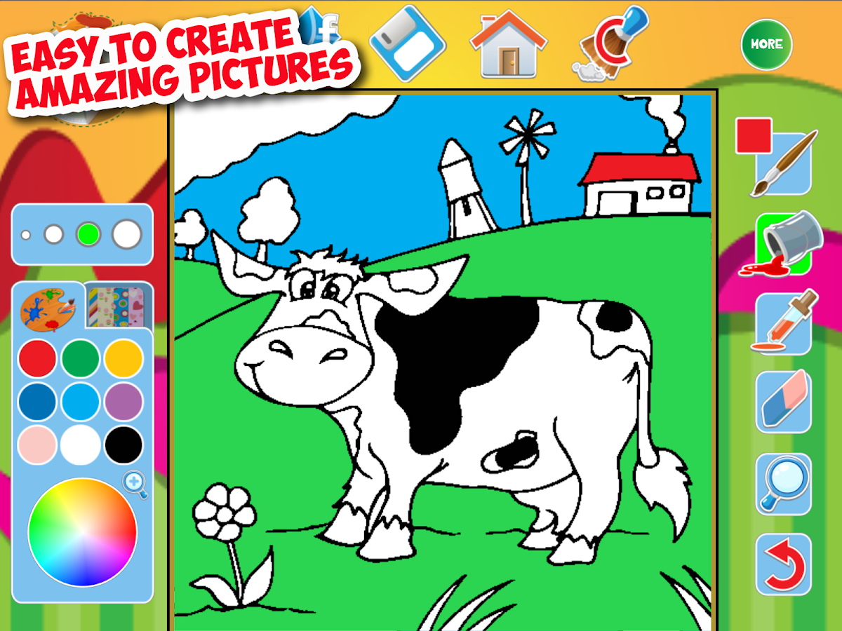 my great big coloring book app screenshot - How To Make A Coloring Book App