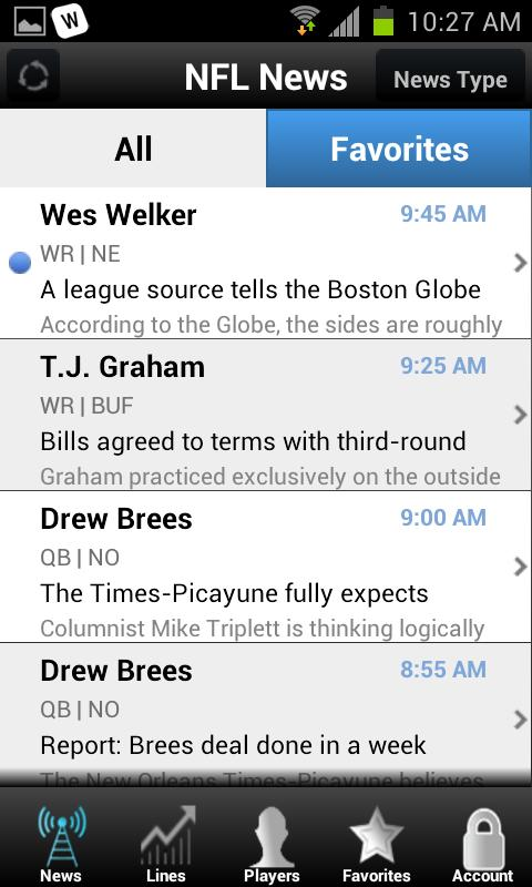 Fantasy Sports - screenshot