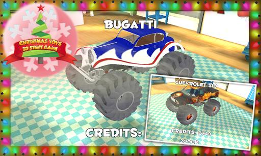 聖誕玩具的3D特技遊戲