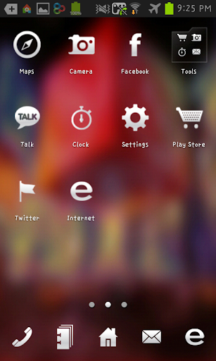 Time Square GO launcher theme