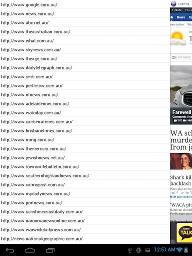 Australian News Launcher