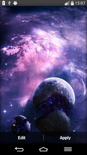 星系的动态壁纸