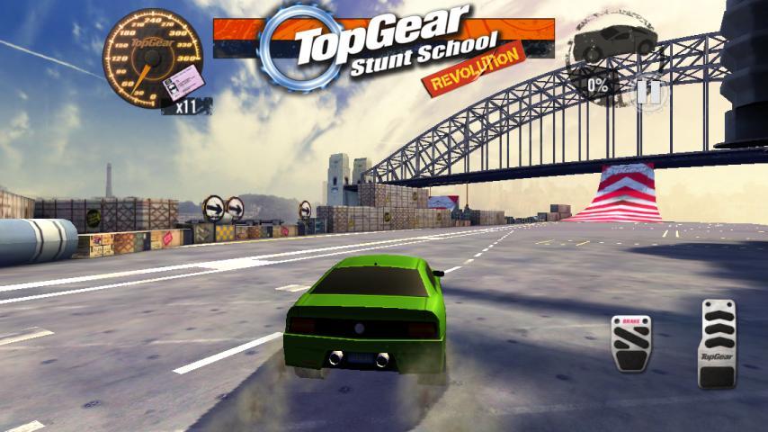 Top Gear: Stunt School SSR screenshot #1