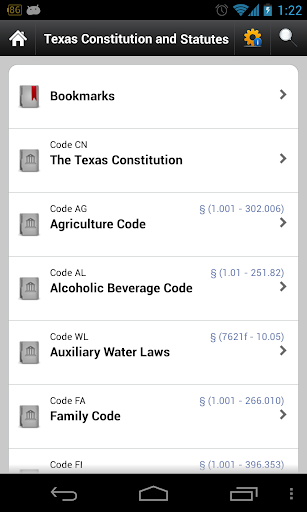 Texas Laws TX state code 84