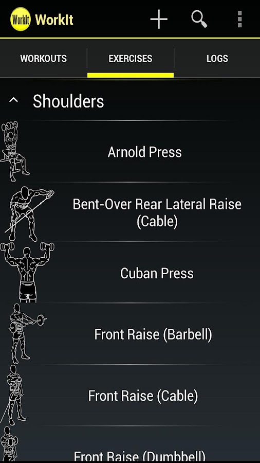 WorkIt - Gym Workout Tracker- screenshot