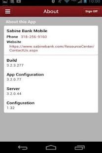 Sabine Bank Mobile - screenshot thumbnail