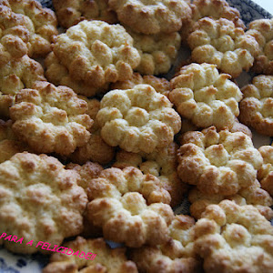 Coconut and Ginger Biscuits