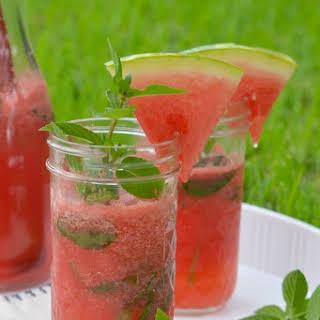 Watermelon Mojito.