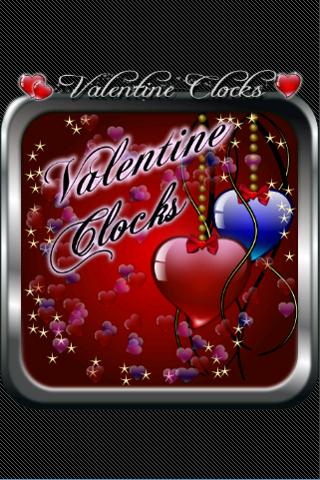 Valentine Clock Widgets Free - screenshot
