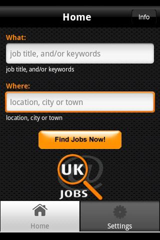 UK Jobs - screenshot