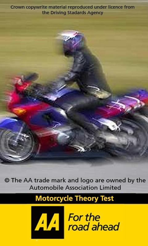 AA Theory Test for Motorbikes - screenshot