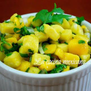 Mango and Pineapple Sauce.