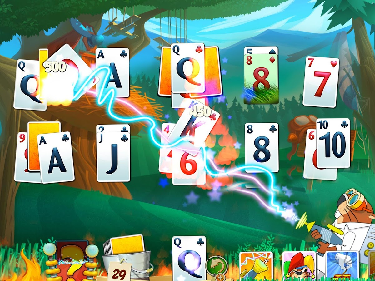 Fairway Solitaire Blast - screenshot