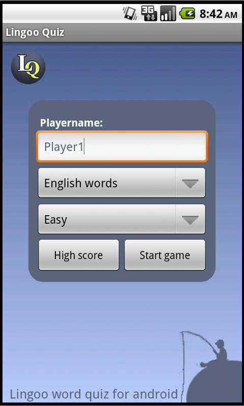 Lingoo word guess - screenshot