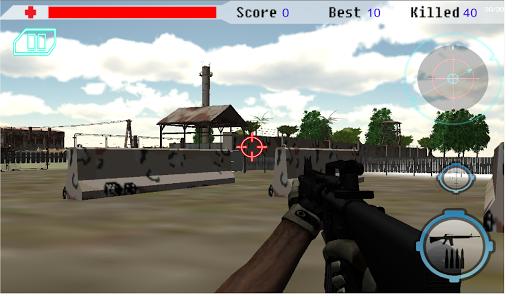 現代陸軍刺客3D免費