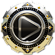 Poweramp skin Titan Storm v1.40