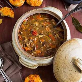 Quinoa Mushroom Soup.