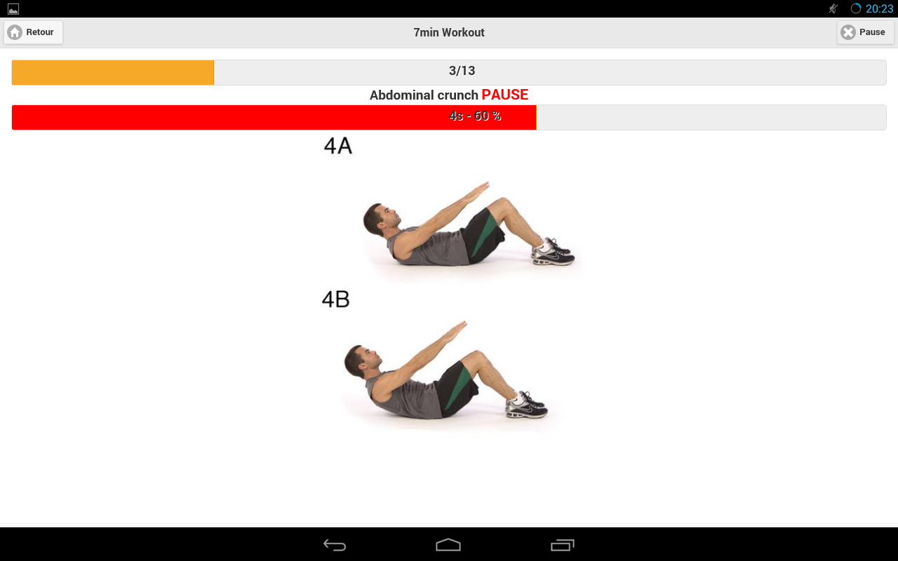 7 Minutes Workout- screenshot
