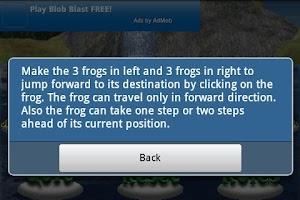Screenshot of Frog Jump