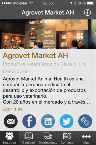 Agrovet Market Animal Health– снимак екрана