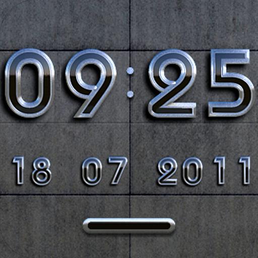 Moscow DIGITAL CLOCK WIDGET