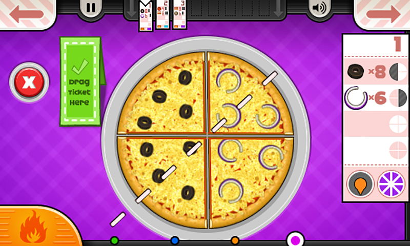 Papa's Pizzeria To Go!- screenshot