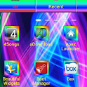 Rainbow Go Launcher Theme logo