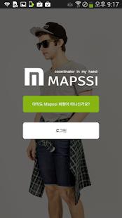 남자패션 쇼핑플랫폼 MAPSSI - 패션 코디 스타일