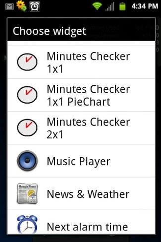 Minutes Checker Free - screenshot