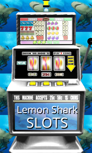 3D Lemon Shark Slots - Free