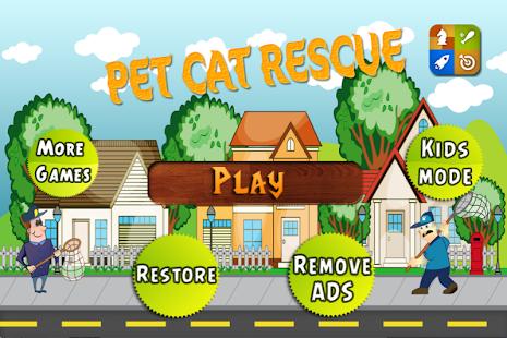 Pet Cat Rescue Run Game - PRO 街機 App-癮科技App