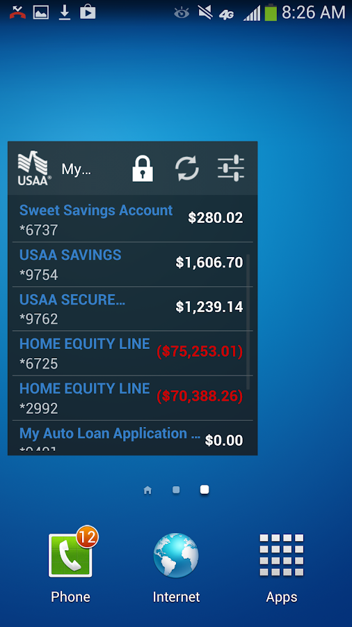 USAA Mobile - screenshot