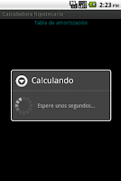 Screenshot of Calculadora hipotecaria
