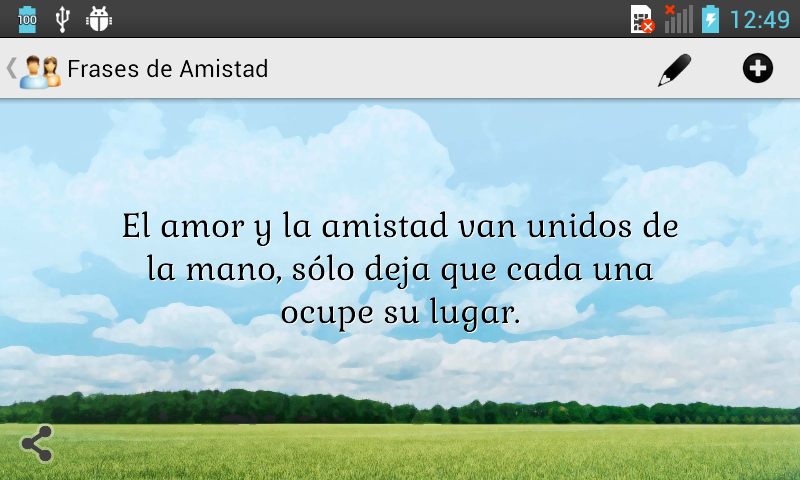 Frases de Amistad - screenshot