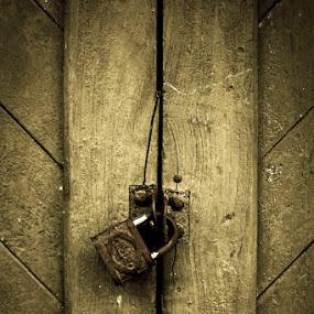 Padlock by Vj Lie - Artistic Objects Still Life ( locked, vjlie, padlock )
